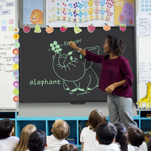 Howeasy LCD blackboard For Classroom